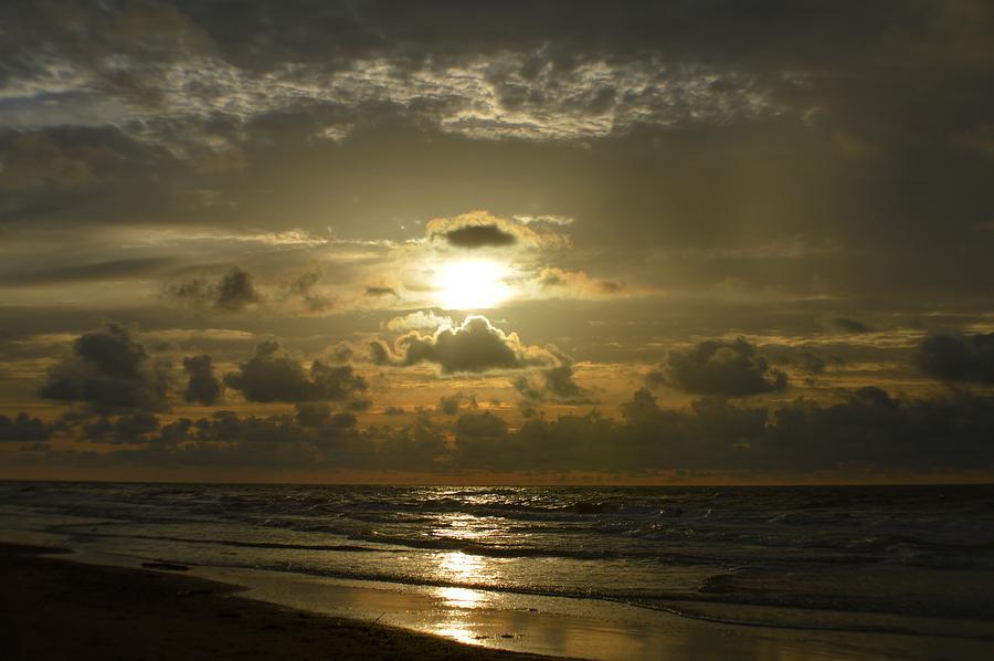 Sun Photograph - Morning Walk by Cynthia Bailey