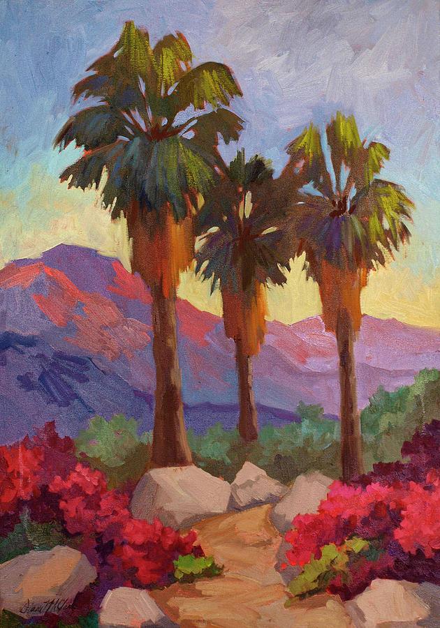 Morning Walk Painting - Morning Walk by Diane McClary