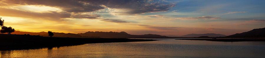 Sun Photograph - Mornings Colors Panorama by Richard Stephen