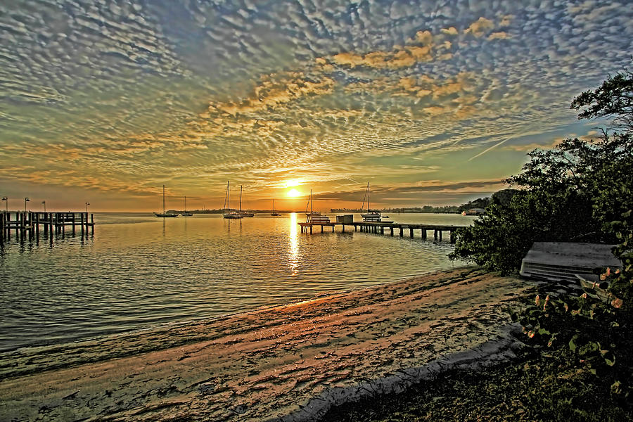 Longboat Key Photograph - Mornings Embrace by HH Photography of Florida