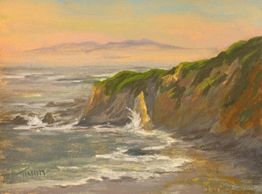 Landscape Painting - Mornings Highlight by Timon Sloane