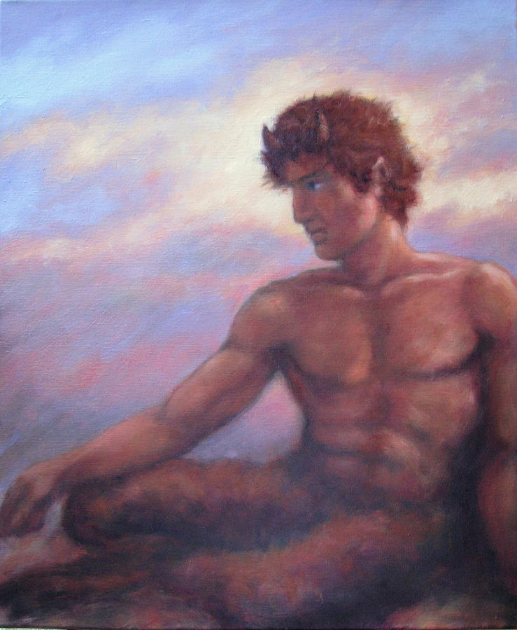 Faun Painting - Mornings Promise by Stephen Howell