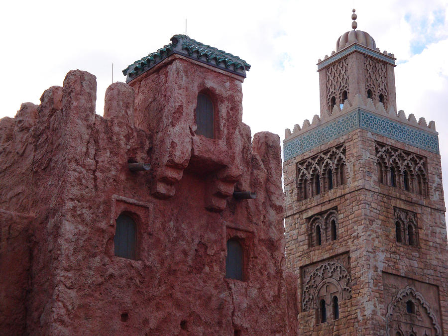 moroccan architecture photograph by kim chernecky