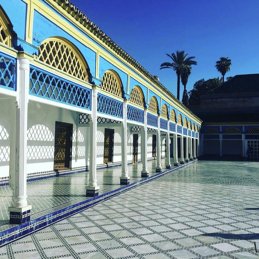 moroccan architecture photograph by lori fitzgibbons