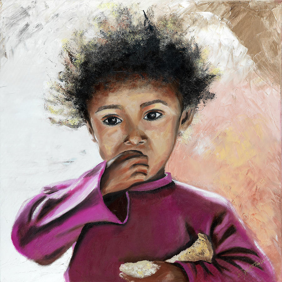 moroccan girl by Beatrix S Zygartowski