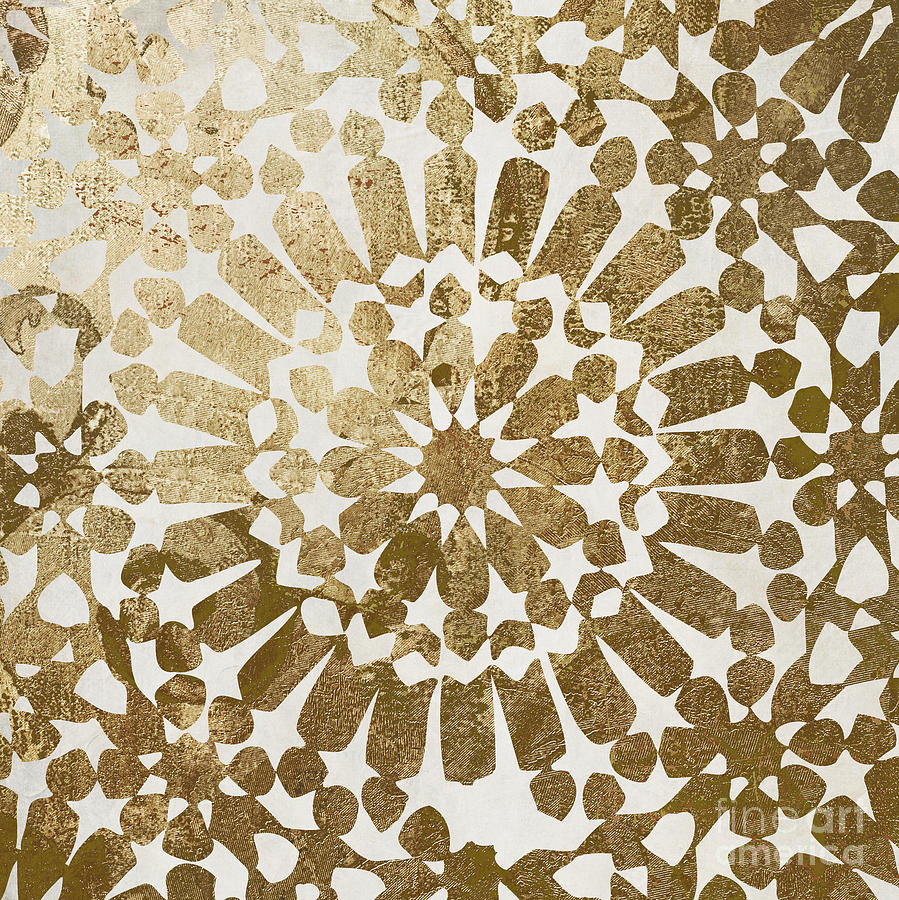Gold Painting - Moroccan Gold II by Mindy Sommers