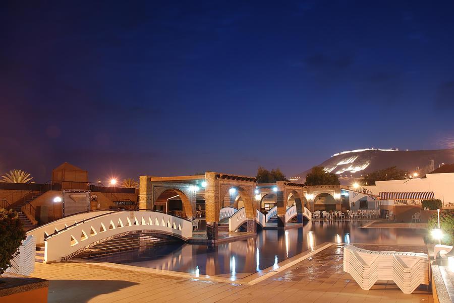 Africa Photograph - Moroccan Hotel by Jaroslaw Grudzinski