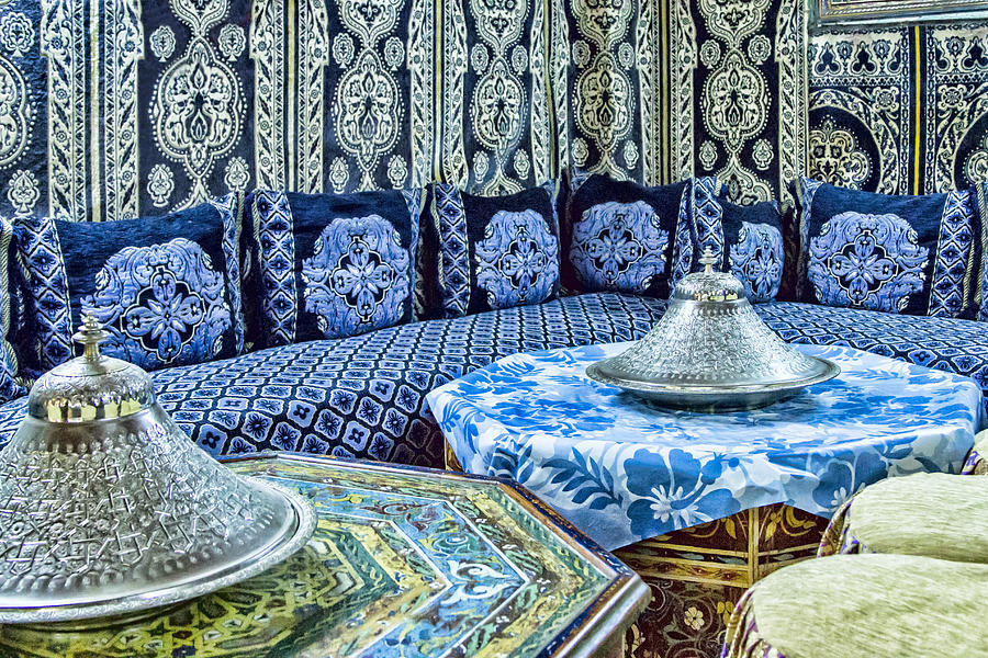 Moroccan restaurant decor photograph by lindley johnson