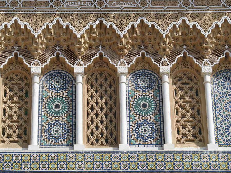 Moroccan Tile Photograph by Erik Falkensteen
