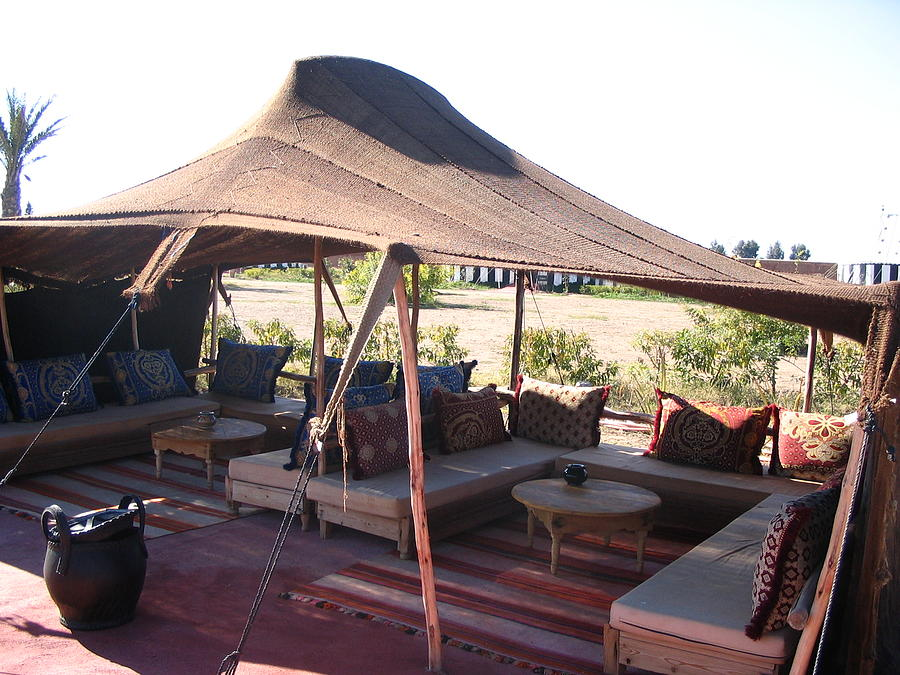 Morocco Photograph - Morocco Atlas Mountains 06 Beber Bedouin Tent by Yvonne Ayoub & Morocco Atlas Mountains 06 Beber Bedouin Tent Photograph by Yvonne ...