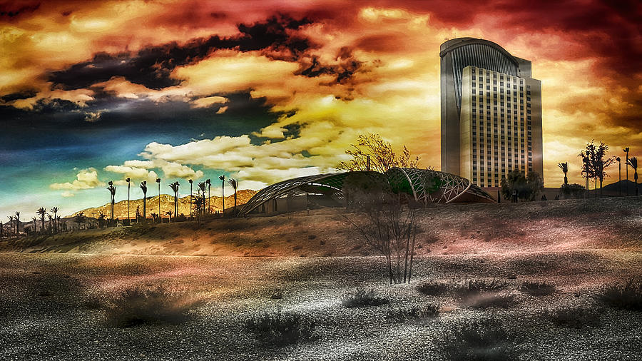 Morongo Casino Sunset by Wayne Wood