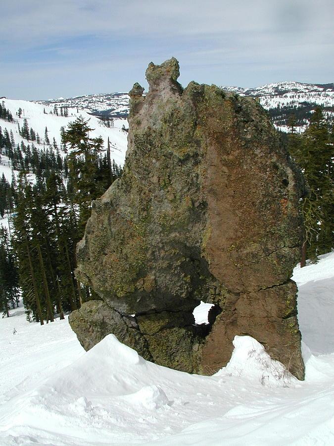 Rock Photograph - Morphrock by Mark Stevenson