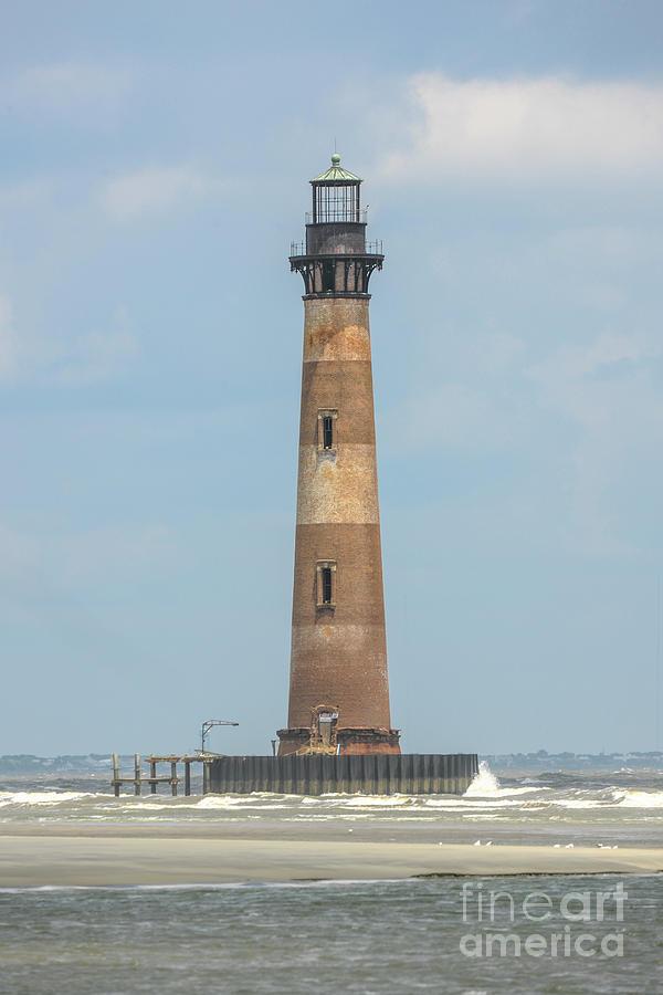Morris Island Lighthouse Circa 1876 Photograph