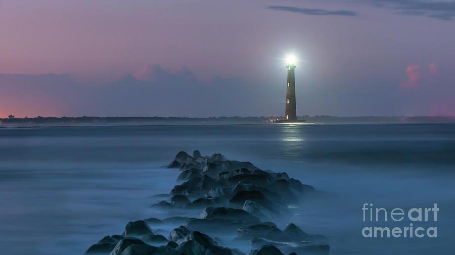 Morris Island Lighthouse Treasure Photograph