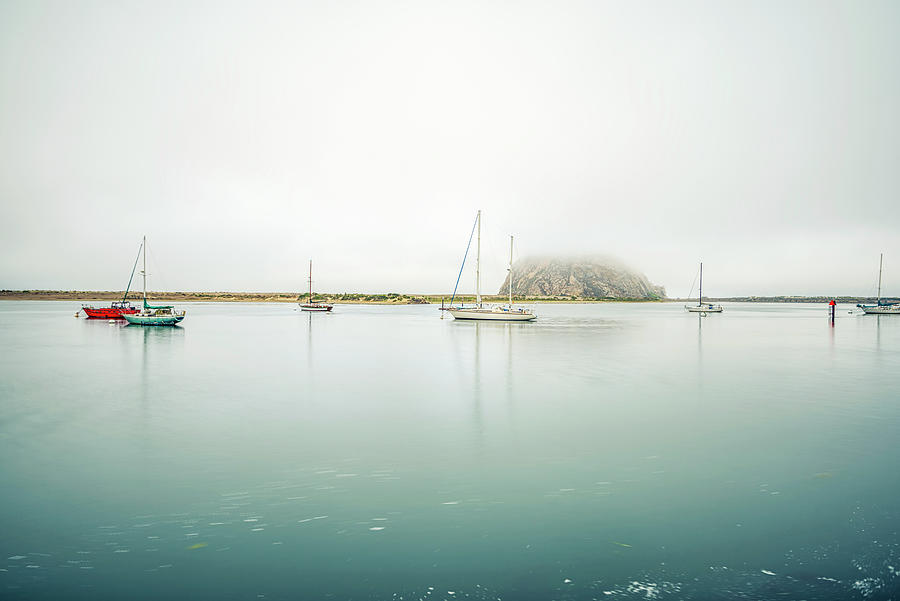 Morro Bay Photograph - Morro Calm #2 by Joseph S Giacalone