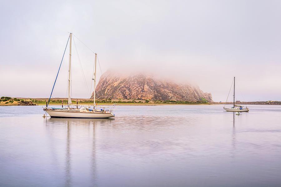 Morro Bay Photograph - Morro Calm #3 by Joseph S Giacalone