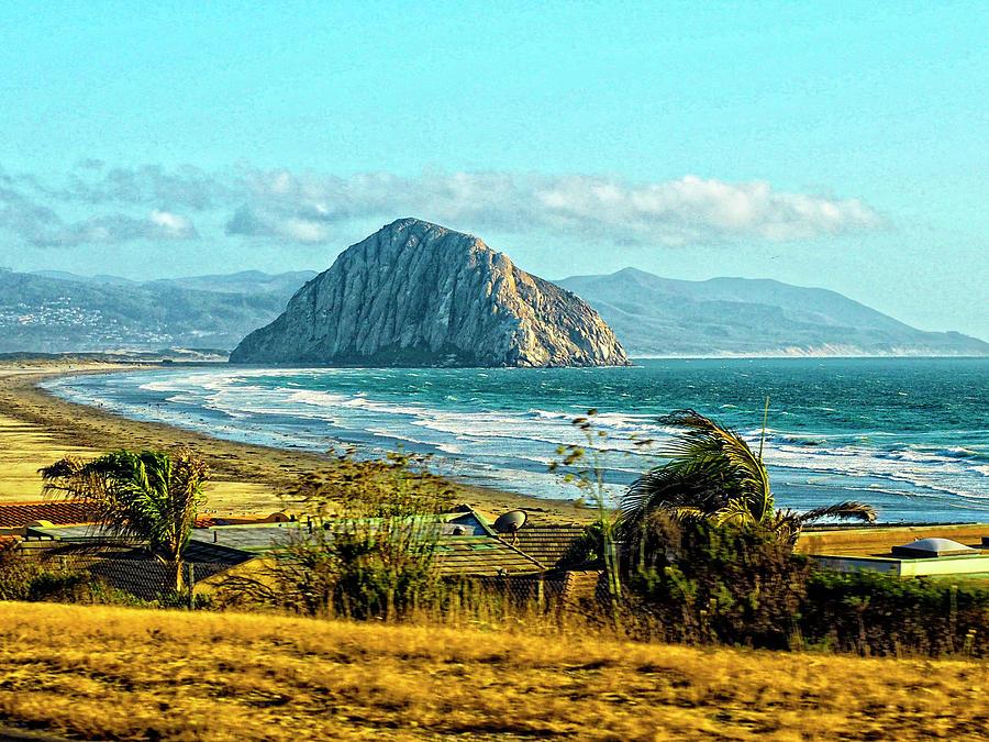 Morro Rock by Rebecca Dru