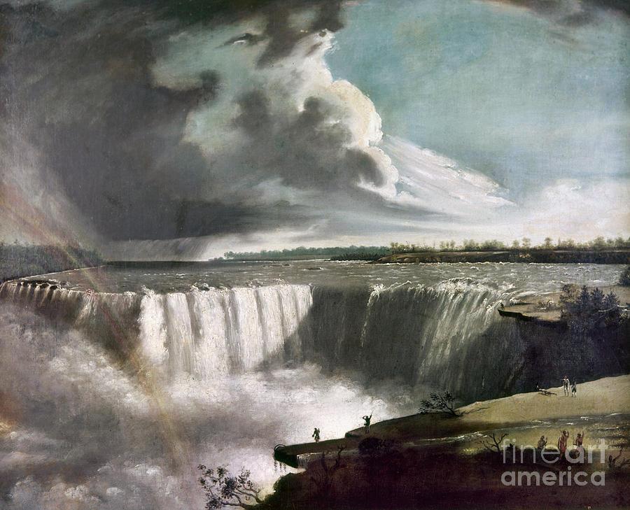 1835 Photograph - Morse: Niagara Falls, 1835 by Granger