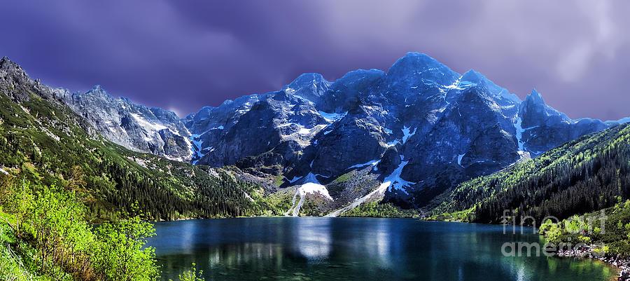 Morskie Oko Poland Lake Tatra Photograph