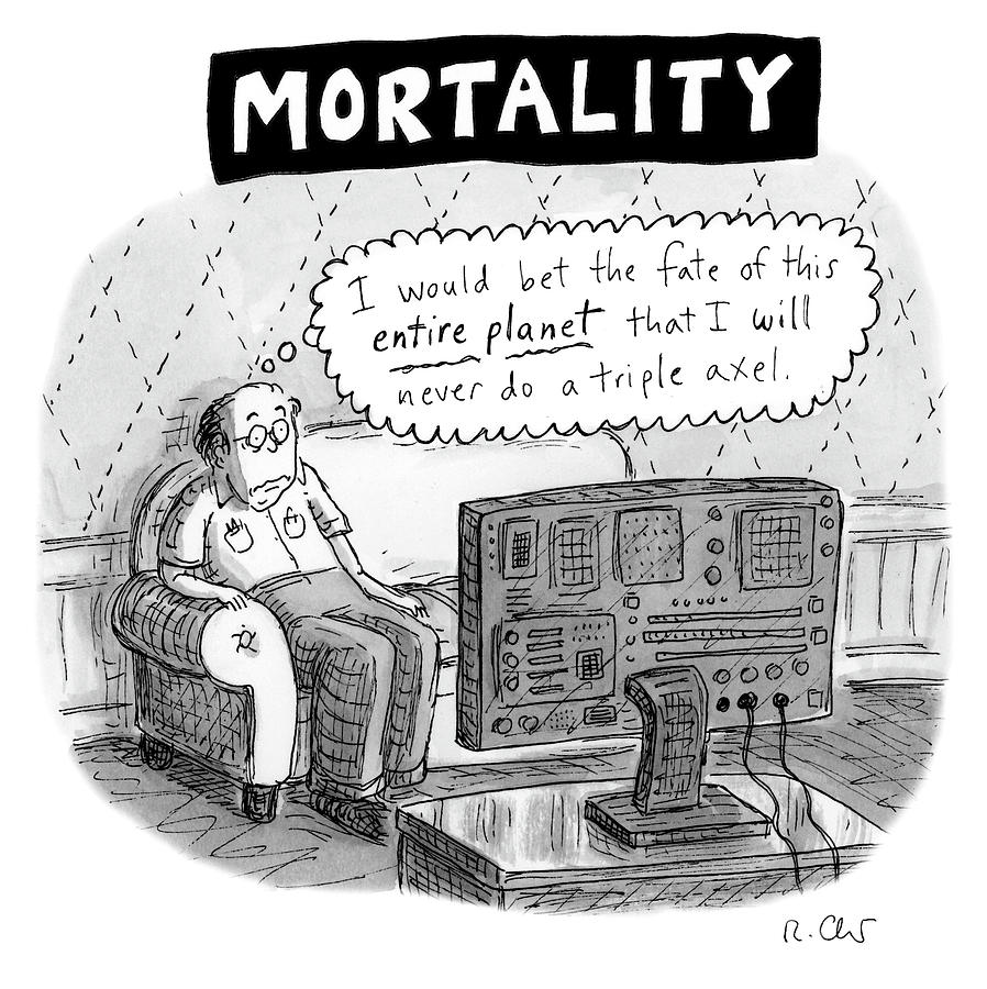 Mortality Photograph by Roz Chast