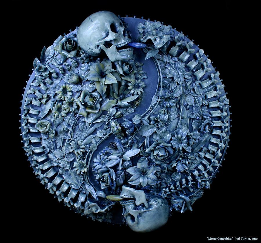 Sculpture Sculpture - Morte Concubitu by Jud  Turner