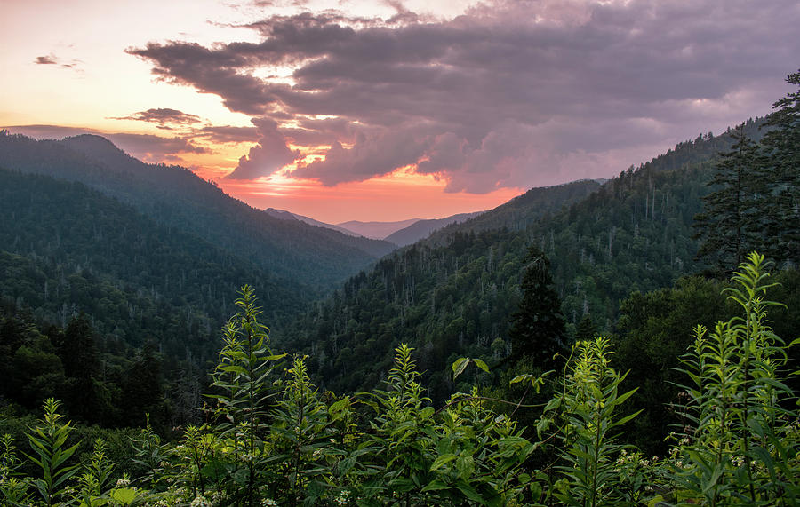 Morton overlook cloudy sunset by Rima Biswas