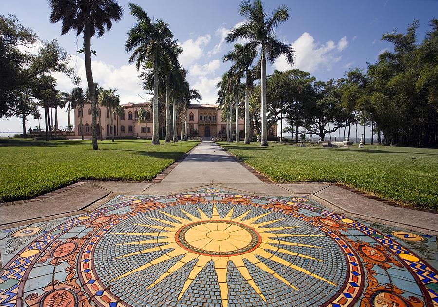 Mosaic Photograph - Mosaic At The Ca D by Mal Bray