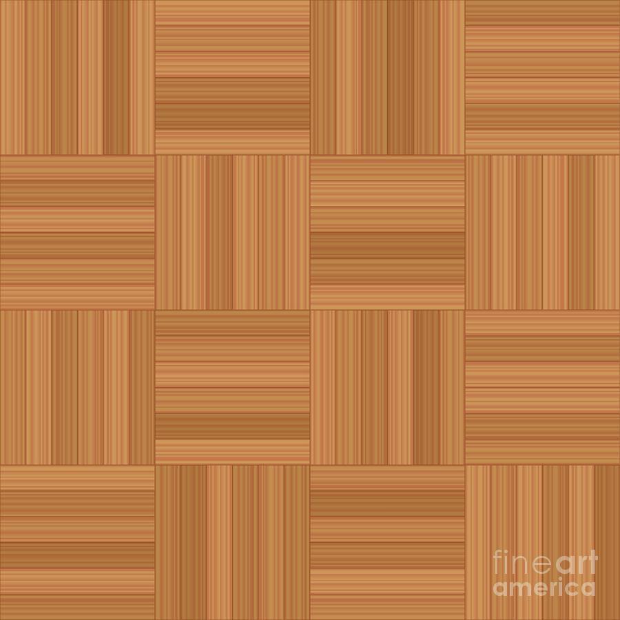 Mosaic Parquet Wooden Flooring Seamless Parquetry Digital Art By