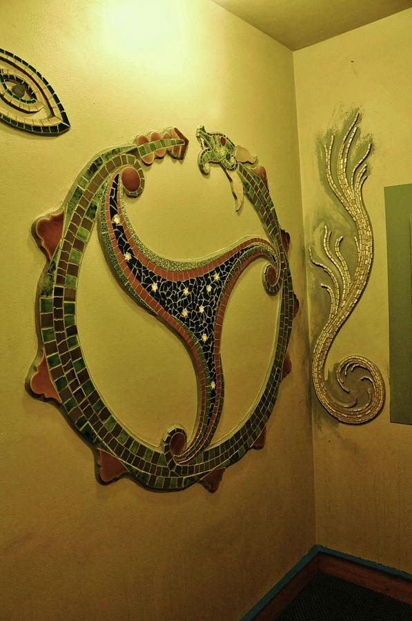 mosaic serpent by Charles Lucas