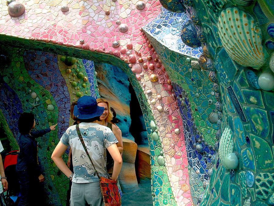 Mosaic Relief - Mosaics At Tokyo Disney Sea Park  by Theodora Kurkchiev