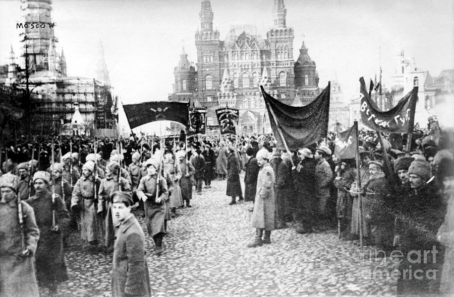 1920 Photograph - Moscow: Red Army, C1920 by Granger