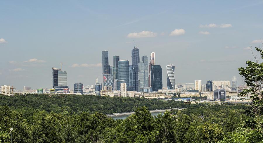 Landscape Photograph - Moscow Skyline by Atul Daimari