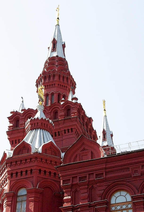 Architecture Photograph - Moscow04 by Svetlana Sewell