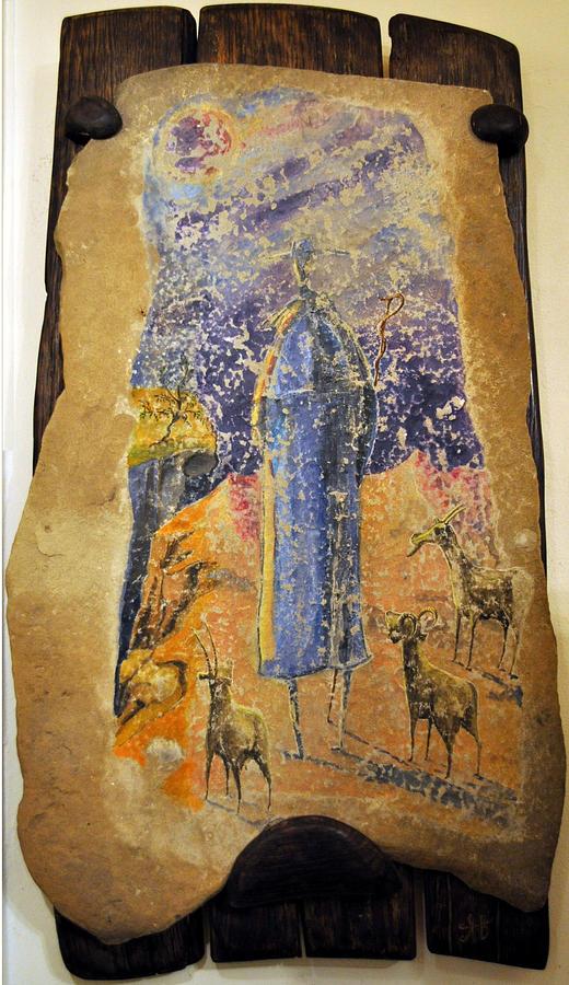 Moses Painting - Moses by Atanas Vasilev