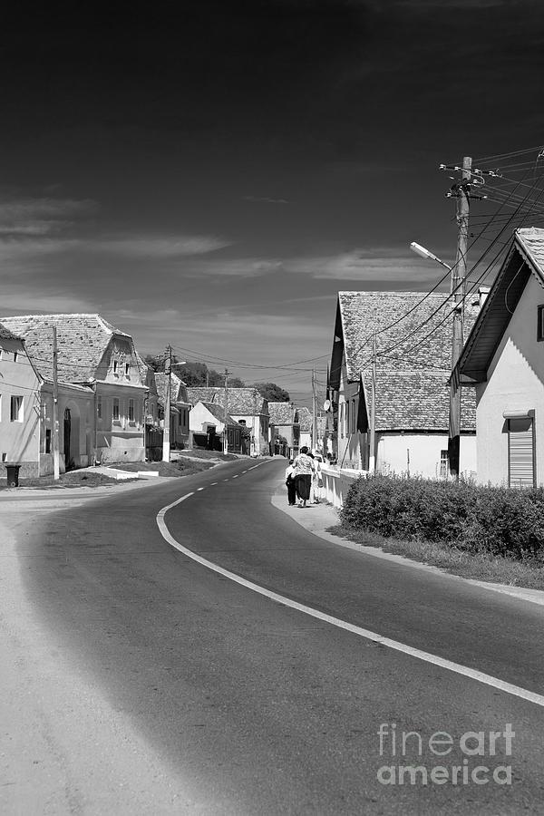 Mosna Photograph - Mosna Village by Gabriela Insuratelu