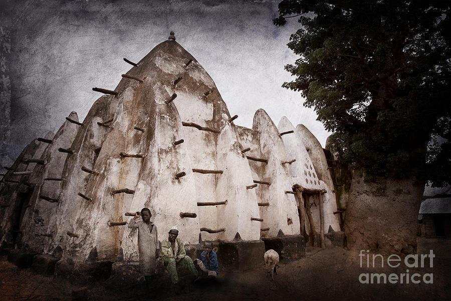 Larabanga Mosque Photograph - Mosque by Naoki Takyo