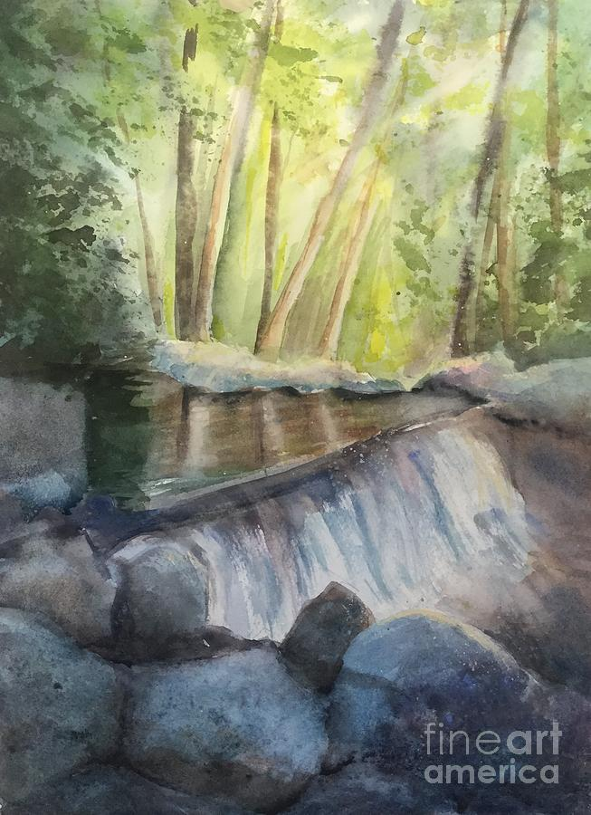 Mosquito Creek 3 Painting by Yohana Knobloch