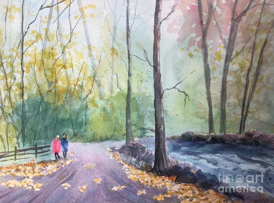 Mosquito Creek Painting - Mosquito Creek by Yohana Knobloch