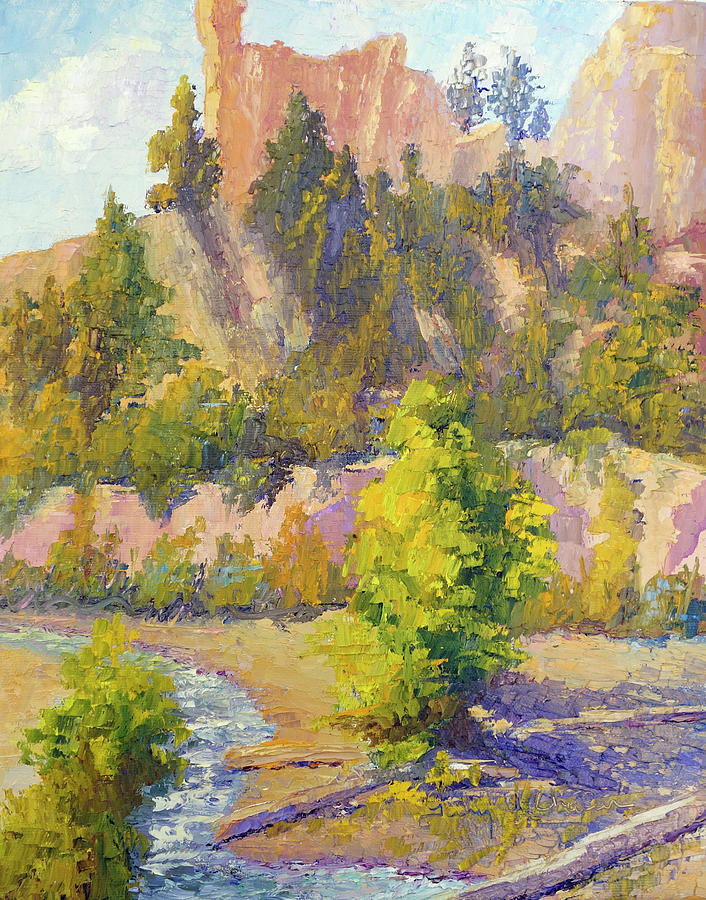 Mossey Cave, Bryce Canyon by Terry Chacon