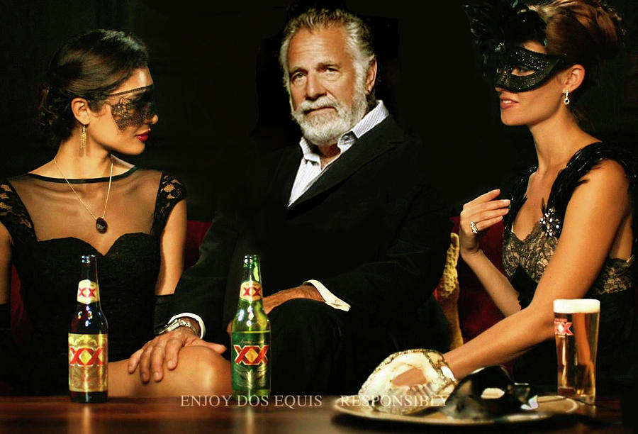 most interesting man in the world dos equis mixed media by thomas