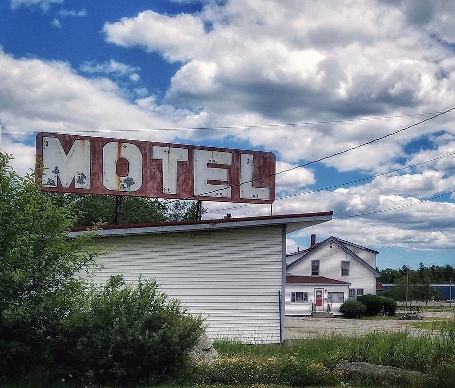 Motel Photograph - Motel by Mary Capriole