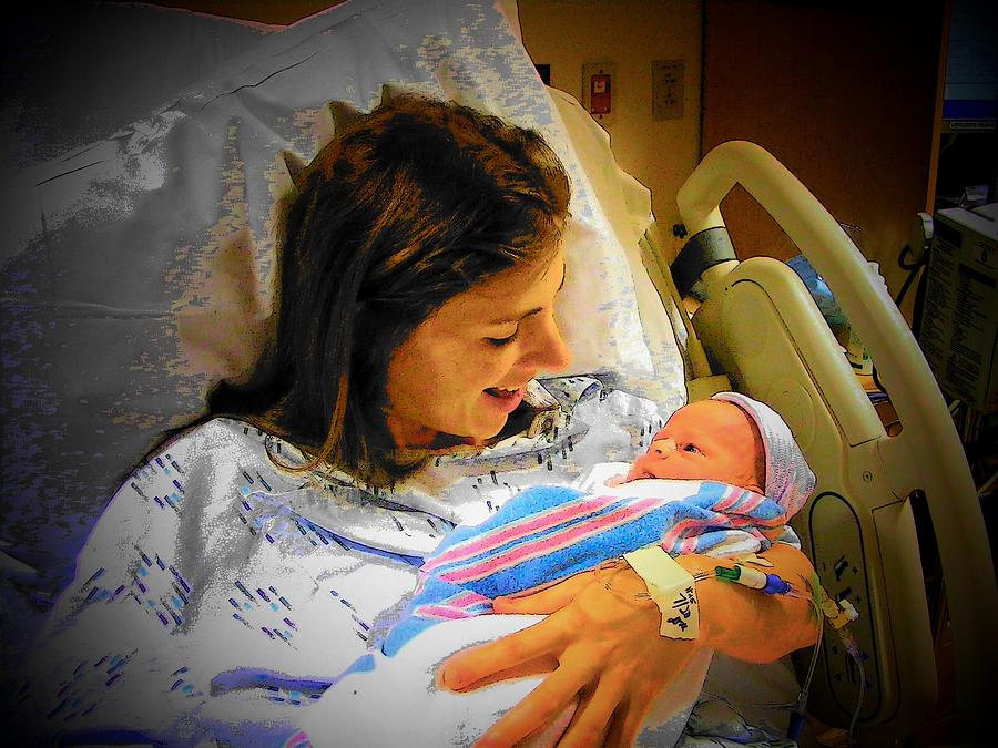 Family Photograph - Mother And Babe by Joyce Kimble Smith