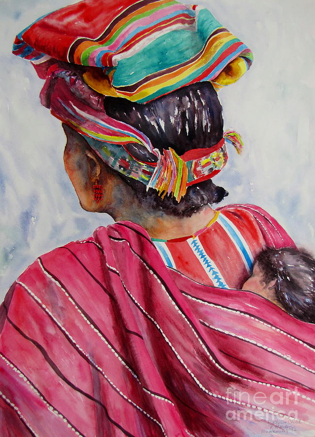 Mother and Child by Pamela Iris Harden