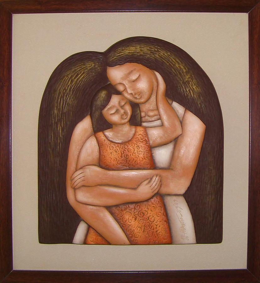 Mother And Child Relief by Rodney Martinez