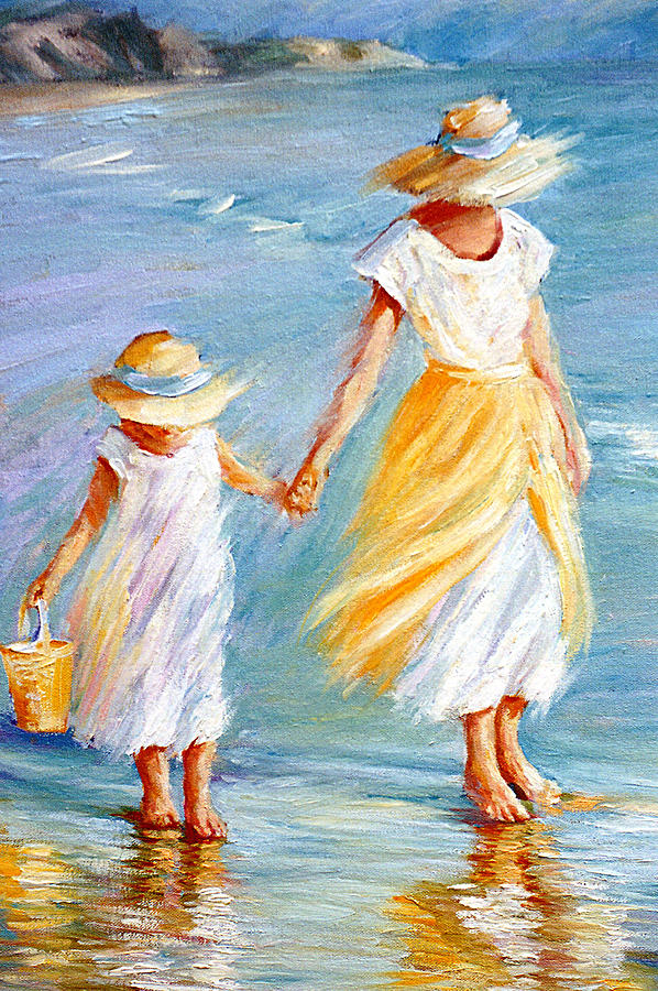 Mother And Daughter Painting By September Mcgee