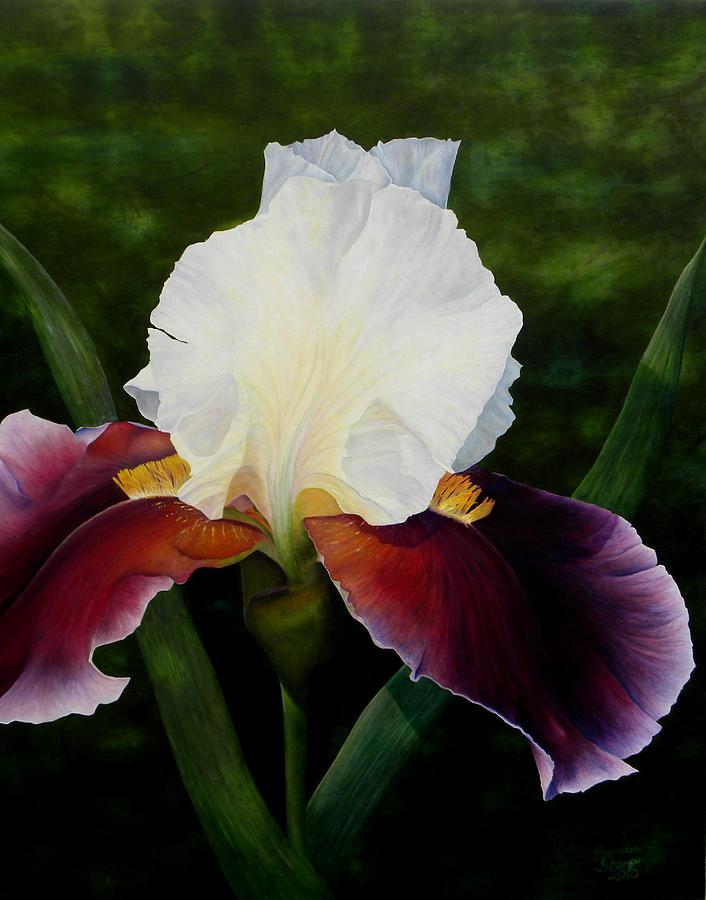 Iris Painting - Mother by Brandon Sharp