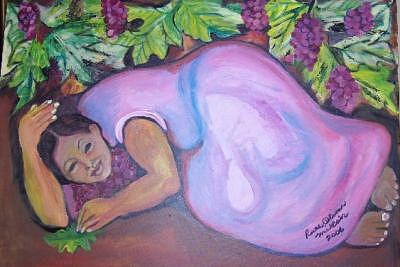 Mother Earth 2 Painting by Ruth Olivar Millan