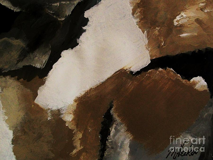 Abstract Painting - Mother Earth Ll by Marsha Heiken