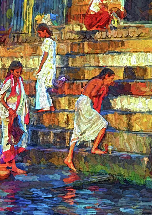 Mother Ganges - Paint 2 Photograph