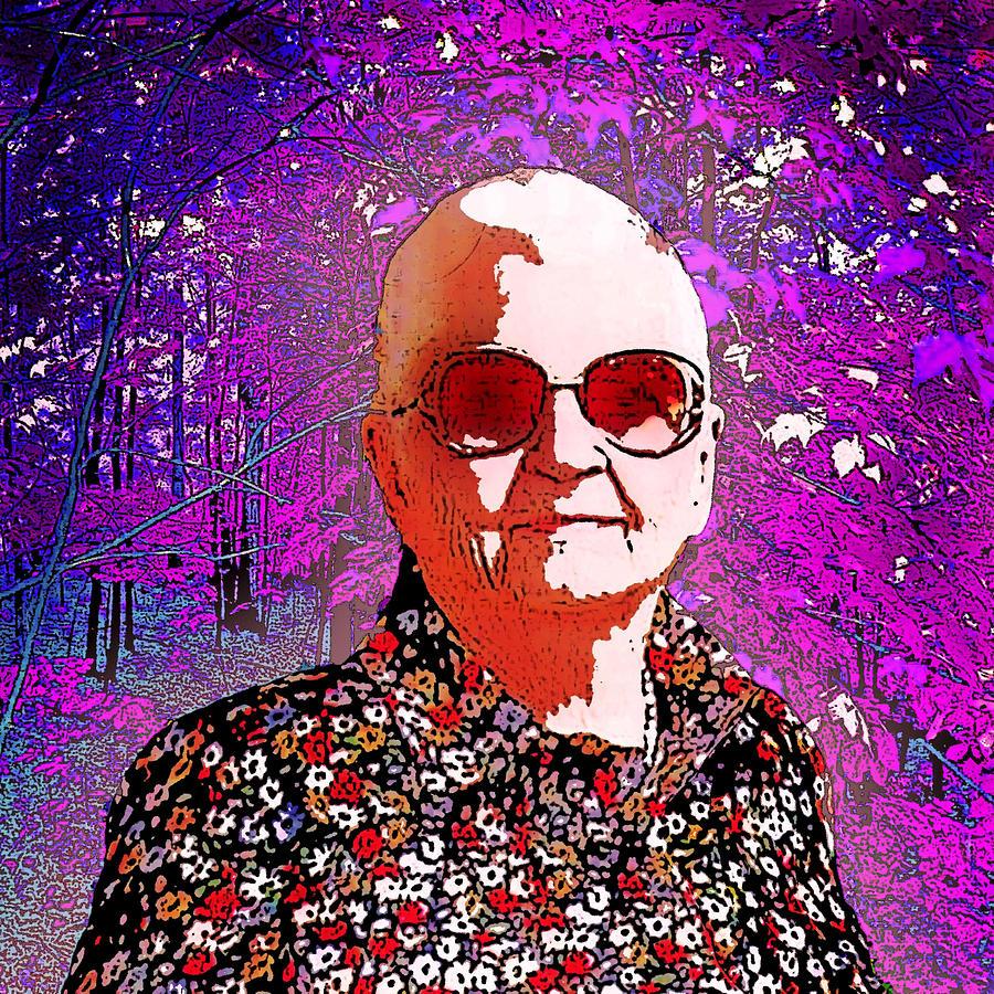 Mary Digital Art - Mother In Law by Nilla Haluska